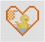 Go to Rubber Ducky Cross Stitch pattern page