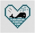 Go to Whale Cross Stitch pattern page