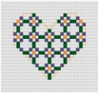 Go to Cross Stitch Heart pattern pages