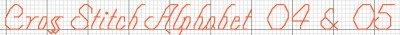 Flourishes Alphabet Example