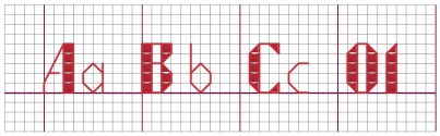 Free Cross Stitch Alphabet Patterns Printable Online