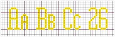 alphabet letter designs free