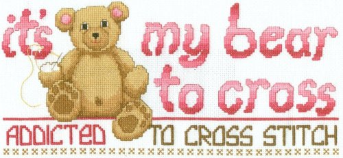 Bear Cross Stitch