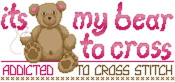 My Bear to Cross Design