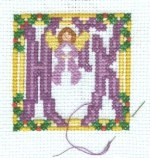 Herald Angel Beginning Stitching