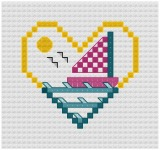 Go to Sailboat Cross Stitch pattern page