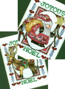 Stitched Christmas Art