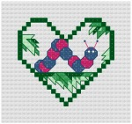 Go to Inchworm Cross Stitch pattern page