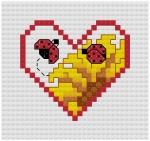 Go to Ladybug Cross Stitch pattern page