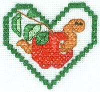 Free Apple Cross Stitch