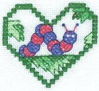 Inchworm Cross Stitch
