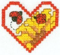 free cross stitch lady bug pattern