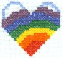 Rainbow Cross Stitch