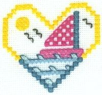 Sailboat Cross Stitch