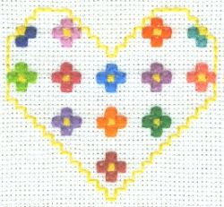 Wild Flowers Cross Stitch