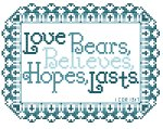 Love Bears All Things...-Blue