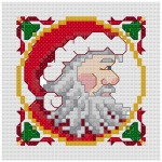 Go to Santa cross stitch pattern page