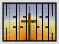 Go to He is Risen cross stitch pattern page
