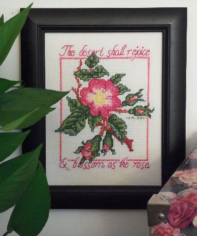 It is a graphic of Free Printable Cross Stitch Patterns Flowers with regard to baby girl new baby
