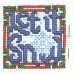 Initial Stitching: 'Let it Snow!'