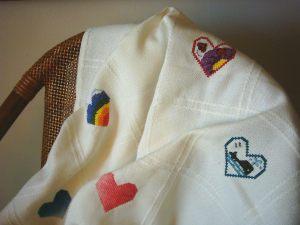 Baby Cross Stitch Afghan