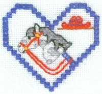 Stick Pony Cross Stitch Design