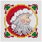 Go to Santa cross stitch pattern page